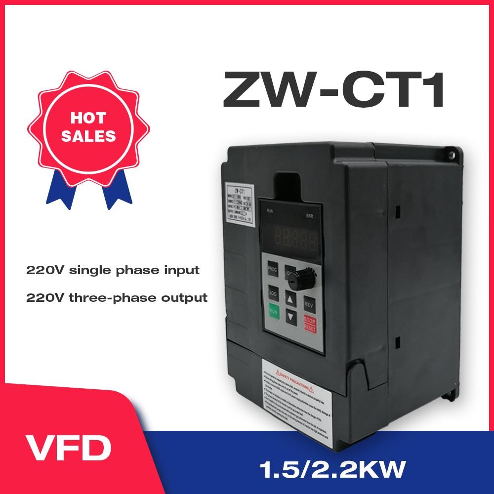 VFD Инвертор VFD 220 кВт/кВт инвертор частоты ZW-CT1 3P в выходной преобразователь частоты с переменным приводом