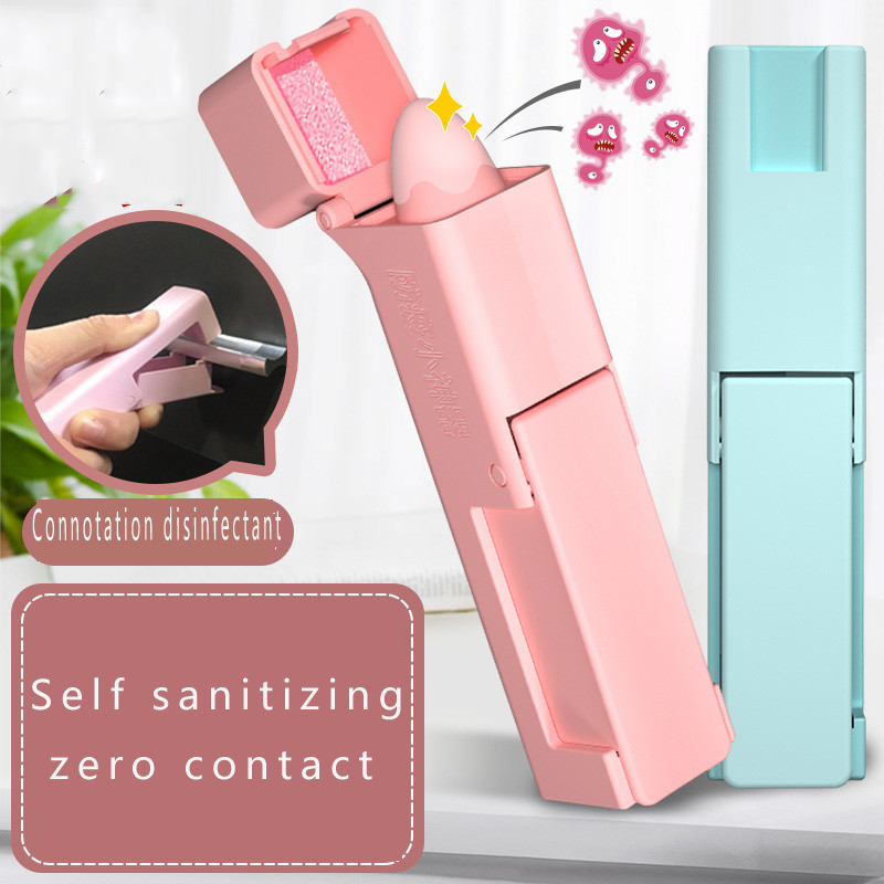 High Quality Toy No Touch Open Door Disinfectant Defender Epidemic Products Small Artifact Personal Care Disinfection Expert