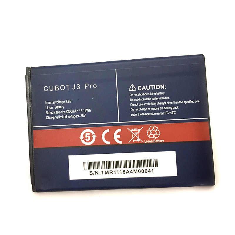 חדש מקורי 3200mAh j3 pro סוללה עבור cubot j3 pro באיכות גבוהה סוללה + מעקב מספר
