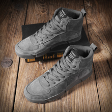 2019 New Fashion Sneakers Men's High help Casual Shoes Comfortable Non-slip