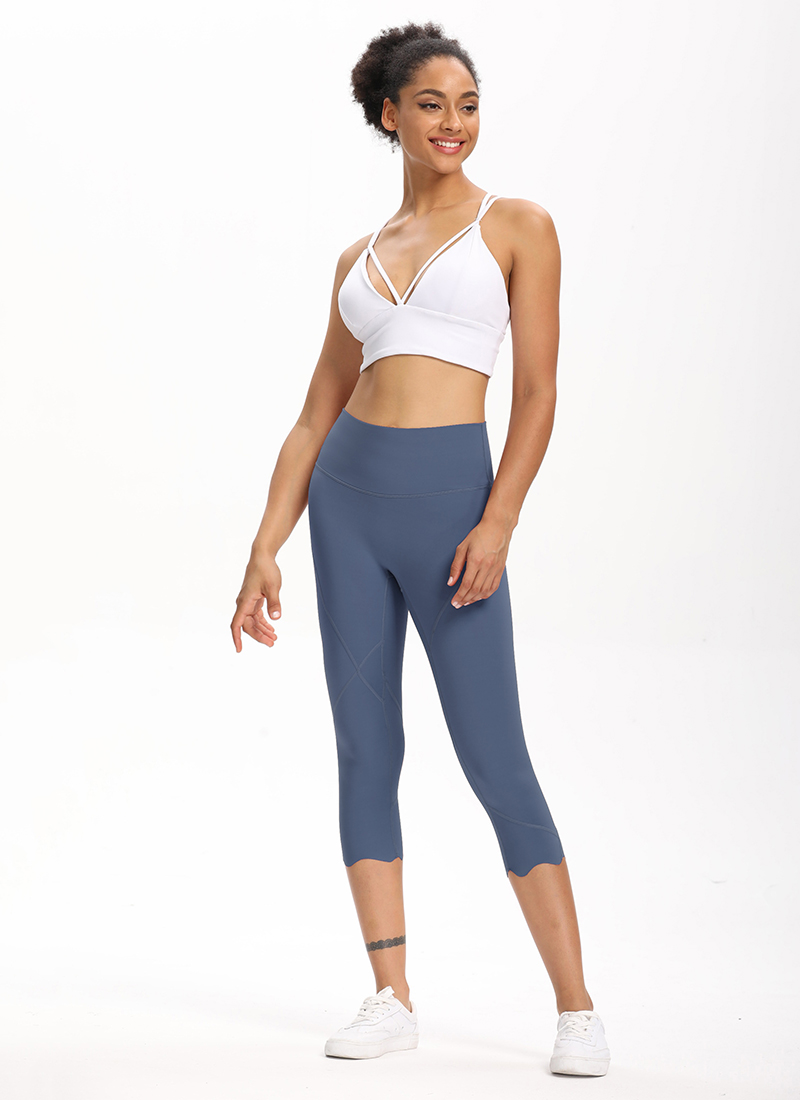 H64a95812b6e0459d86613f8d0e0ae722Q Cardism High Waist Sport Pants Women Yoga Sports Gym Sexy Leggings For Fitness Joggers Push Up Women Calf Length Pants Wave
