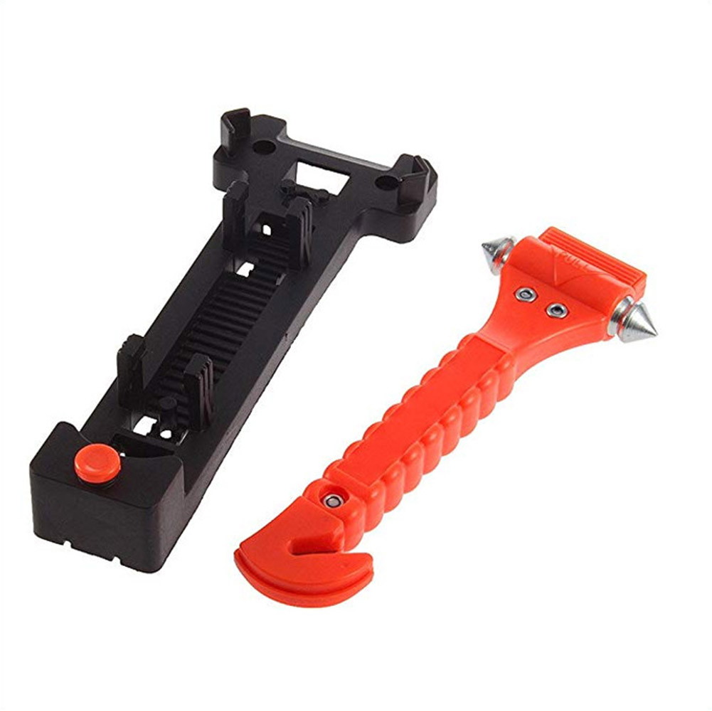 Car Safety Escape Glass Window Breaker Emergency Hammer Seat Belt Cutter Car Accessories L9