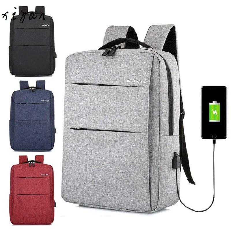 2019 New Laptop Usb Backpack School Bag Rucksack Anti Theft Men Backbag Travel Daypacks Male Leisure Backpack Mochila