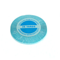 1 roll 36 yards Blue lace front tape hair extension adhesive tape skin weft tape 0.8/1.0 cm for lace wig toupee
