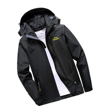 Autumn and winter new couple jackets men and women outdoor sports camping climbing thin coat