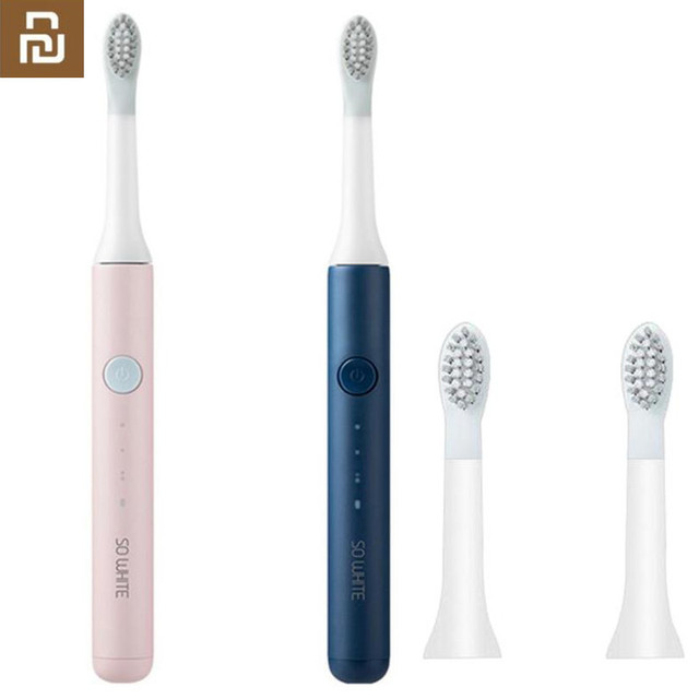Youpin SO WHITE Sonic Electric Toothbrush Portable IPX7 Waterproof Deep Clean Inductive Rechargeable Wireless Tooth Brush