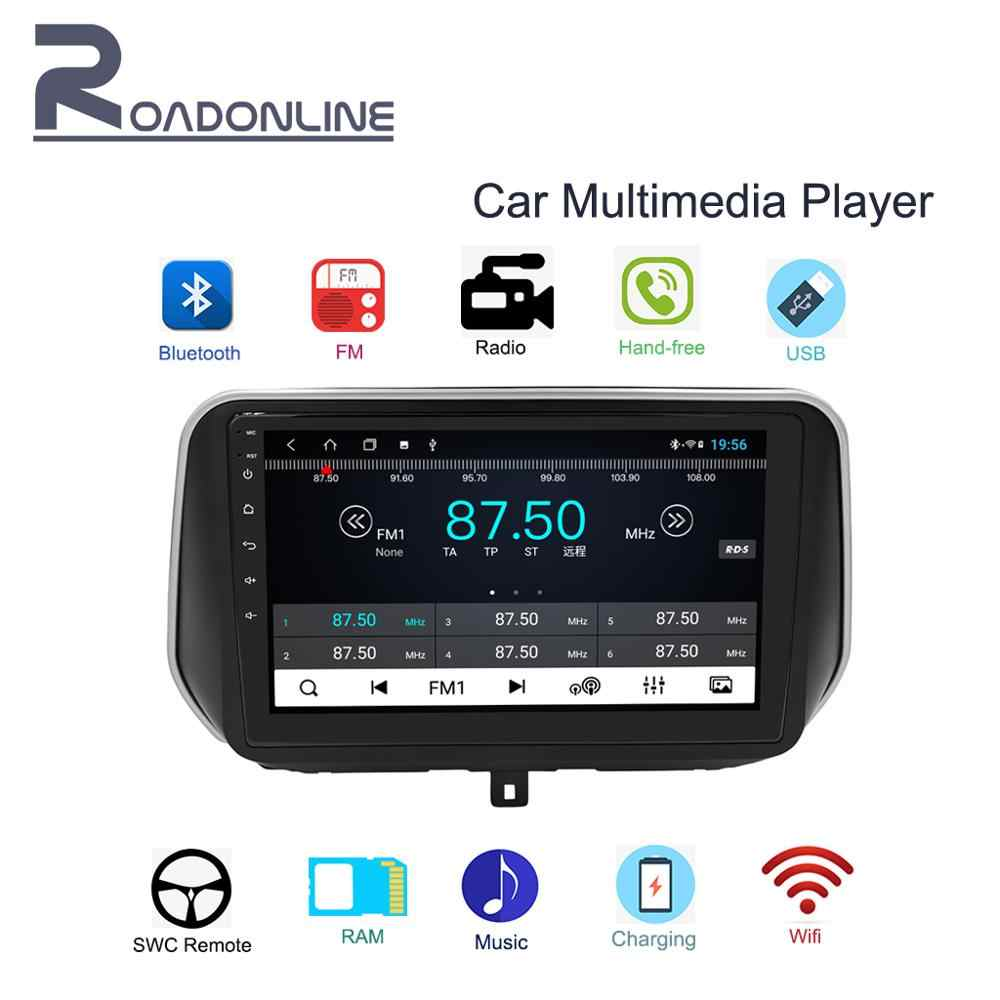 2019 Santa Fe auto multimedia speler 10.1 ''HD 1din Touch-screen Radio stereo ondersteuning in-auto Bluetooth /WIFI/FM/AM/USB/AUX/KAART