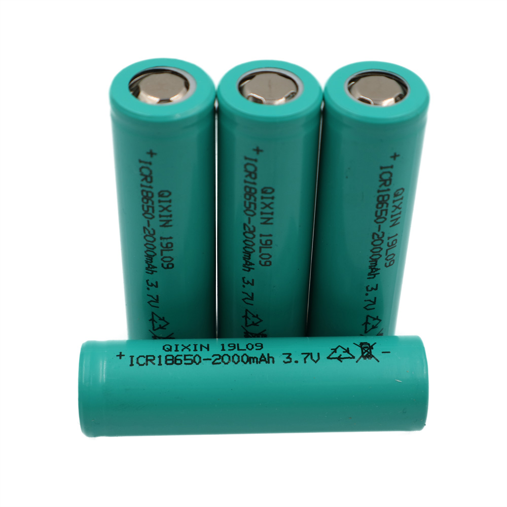C&P 2000mAh 4pcs <font><b>18650</b></font> battery discharge rate more than 10C 20A high rechargeable Li-ion power tool battery batteries Cell cells image
