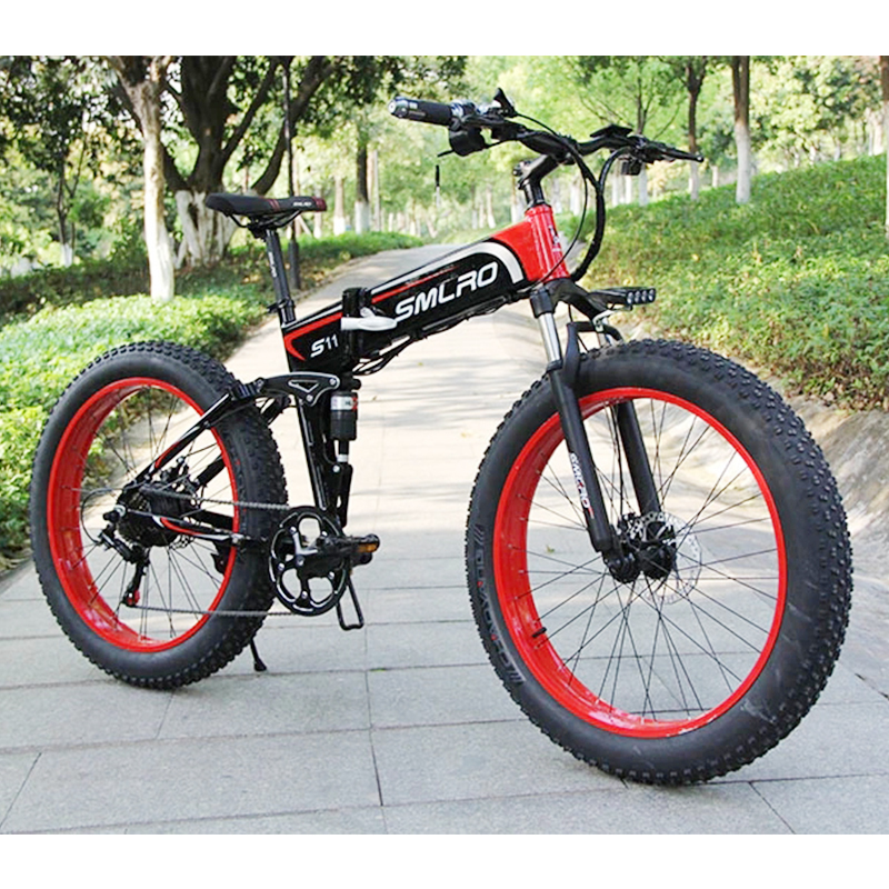 S11f Electric Fat Bike E Bike 750w 1000w Motor Cheap Price 48v