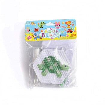 Diseño de tortuga, fusible mágico, cuentas de agua, artesanía creativa, Kit de cuentas mágicas de niebla de agua DIY para niños, juguete