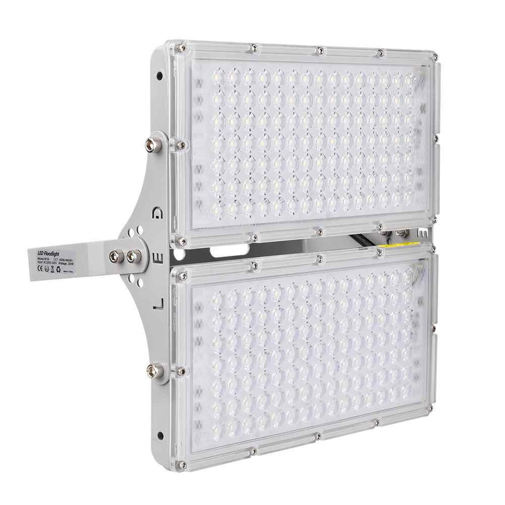 Đèn LED Cực Chất IP65 Chống Nước Bức Xạ Nhiệt Nghiên Cứu Thực Phẩm Đèn LED Máy Chiếu Sáng Cho Sân Sân Vận Động Nhà Để Xe