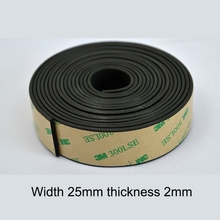 1PC Rubber Sealing Strip Waterproof Dustproof Front / Rear / Sunroof Glass  Sealing Automobiles Interior Accessories