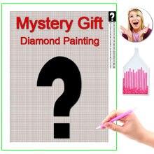 HOMFUN-pintura de diamante 5D DIY de diferentes estilos, bordado de diamantes de imitación, punto de cruz misterioso, regalo para decoración del hogar