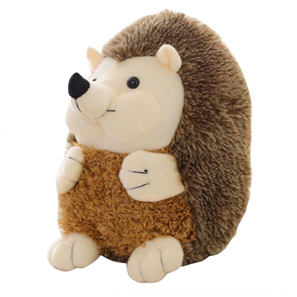 OCDAY Cute Soft Hedgehog Animal Doll Stuffed Plush Toy Simulation Animal Toy Kids Home Wedding Party Toys Appease Doll 15cm Hot