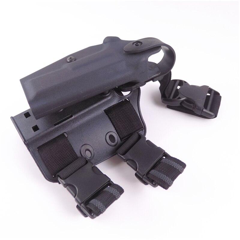 coxa coleiras para arma colt 1911 pistola