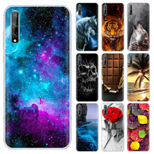 Back Cover For Huawei P Smart S 2020 Case Silicone Soft TPU Cute Phone Case For Huawei
