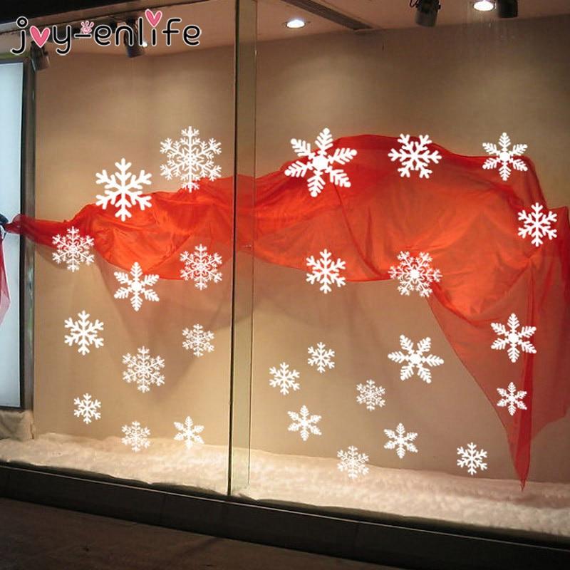 1 set witte sneeuwvlok sticker decoratie glazen raam kinderkamer - Feestversiering en feestartikelen - Foto 5
