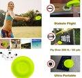 Мини-Летающий диск для пляжа, силиконовый диск для спорта на открытом воздухе, игрушки для декомпрессии для игры, развлекательные игрушки д...