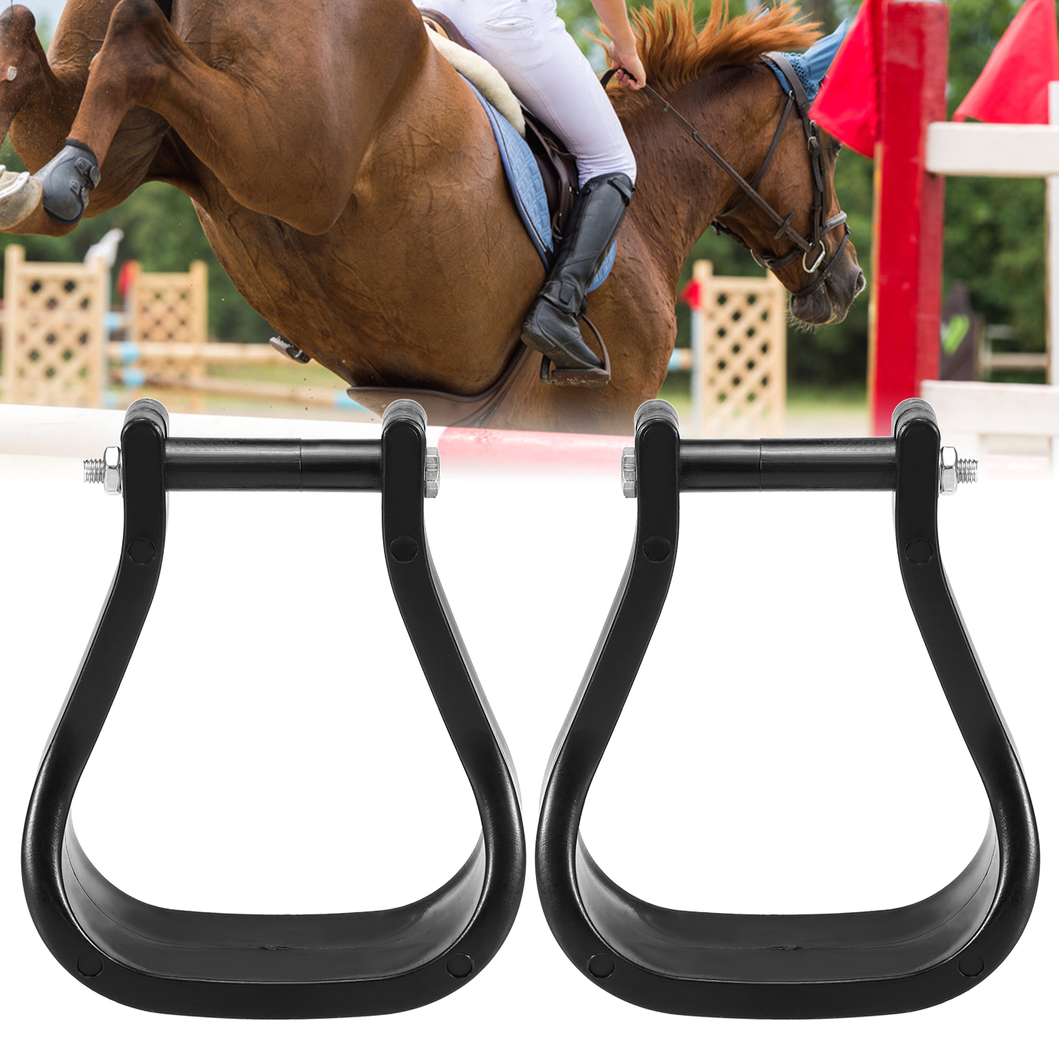 1 Pair Plastic Western Horse Riding Stirrups Knight Equipment Equestrian Supplies Outdoor Sports Body Protectors Aliexpress