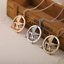 Hot hunger game mocking bird necklace accessories European and American fashion movie