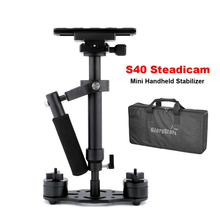S40 Steadicam 40cm Mini Steadycam Pro Handheld Kamera Video Stabilisator für Camcorder Digital Kamera Video Canon Nikon Sony DSLR