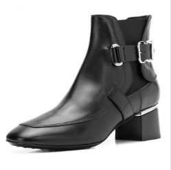 High Quantity Wholesale Cow Suede Genuine Leather Winter Ankle Chelsea Boots Women