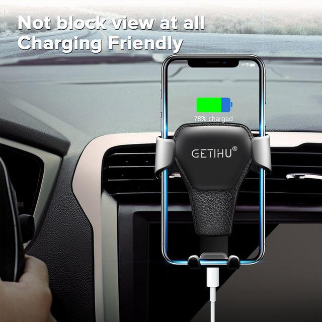 Car Phone Holder In Car Air Vent Clip Holder