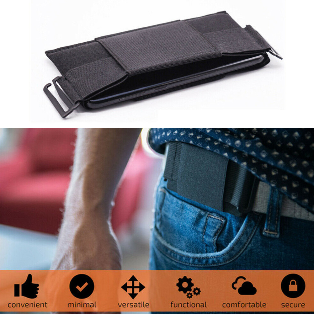 Anti-theft Invisible Wallet Outdoor Sport ID Card Key Phone Storage Holder Waist Bags Lightweight Running Jogging Fitness Pouch