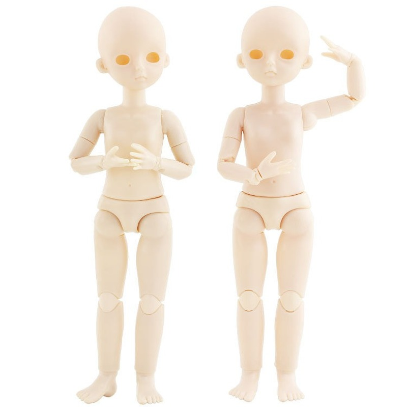 12inch 22 Jointed Unpainted Doll Full Body DIY Practice Accessory with Shoes