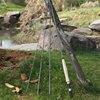Sougayilang 9FT 2.7M 4 Section Fishing Rod Portable UltraLight Fly Fishing Rod  Soft Cork Handle Rod Fishing Tackle 5