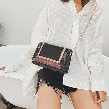 Cross-slung satchel women's bag fall 2019 new fashion single shoulder bag fashion versatile chain bag
