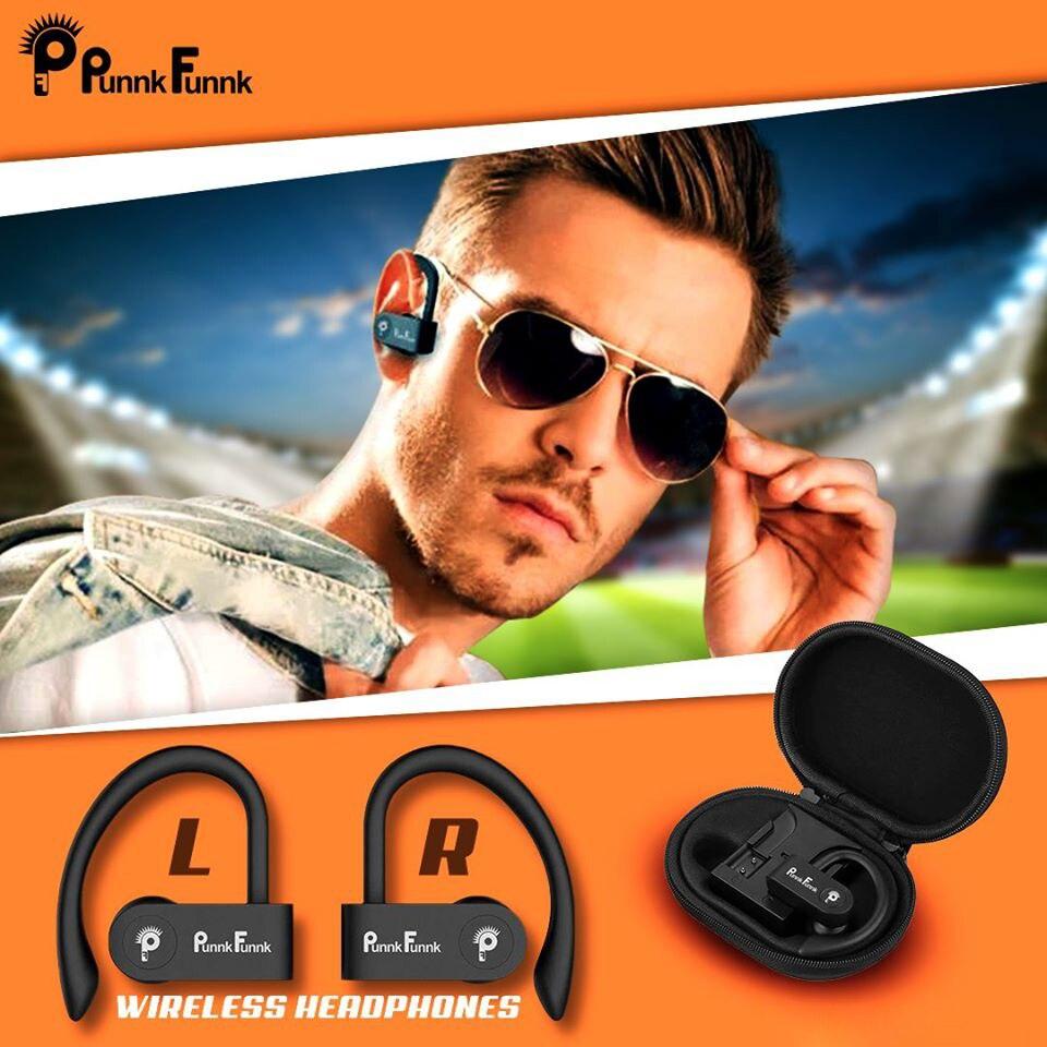 Sport Echte Draadloze Oordopjes Tws Draadloze Koptelefoon Bluetooth 5.0 Draadloze Hoofdtelefoon Bass Stereo Haak Oor Headset W/Opladen Doos 2
