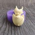 Форма в виде дракона, Прозрачная форма для выпечки шоколада, инструменты для выпечки тортов, форма «сделай сам», силиконовая форма для эпокс...