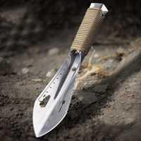Metal Detector Garden Digging Tool Digger Garden Shovel w Sheath Stainless Steel outdoor tools Au28 19 dropship