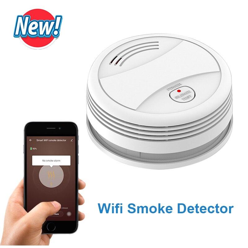 CPVan SM05W WiFi Smoke Detector Tuya APP Control Security Fire Protection Wireless Fire Detector датчик дыма Smoke Rookmelder
