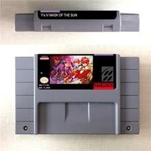 Ys máscara IV of the Sun tarjeta de juego RPG, versión estadounidense, batería en inglés, guardar