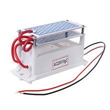 10 g/h DC12V/AC220V נייד אוזון מחולל משולב קרמיקה Ozonizer רכב אוויר מים עיקור מטהר חלקי בית תעשייה