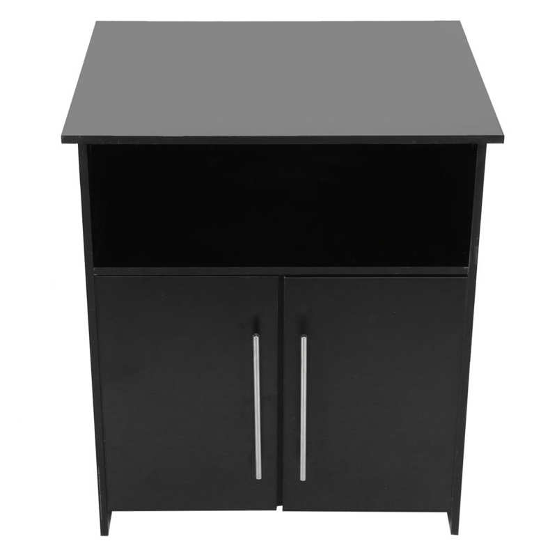 Printer Cabinet Printer Stand Cabinet Particle Board Storage Organizer Furniture for Home Office