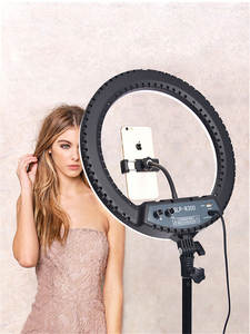 fosoto SLP-R300 Ring Light 60W 300pcs Led Ring Lamp With Tripod Photographic lighting Ringlight For Camera Phone Makeup Youtube