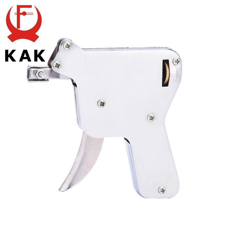 KAK Locksmith Tools Practice Padlock Hand Tool Broken Key Remove Auto Extractor Set Manual Lock Pick Gun Set Hardware