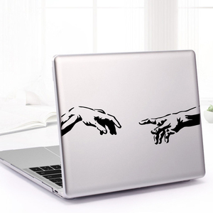 Modern Hand laptop sticker for Laptopa Notebook Touchpad Skin Decal