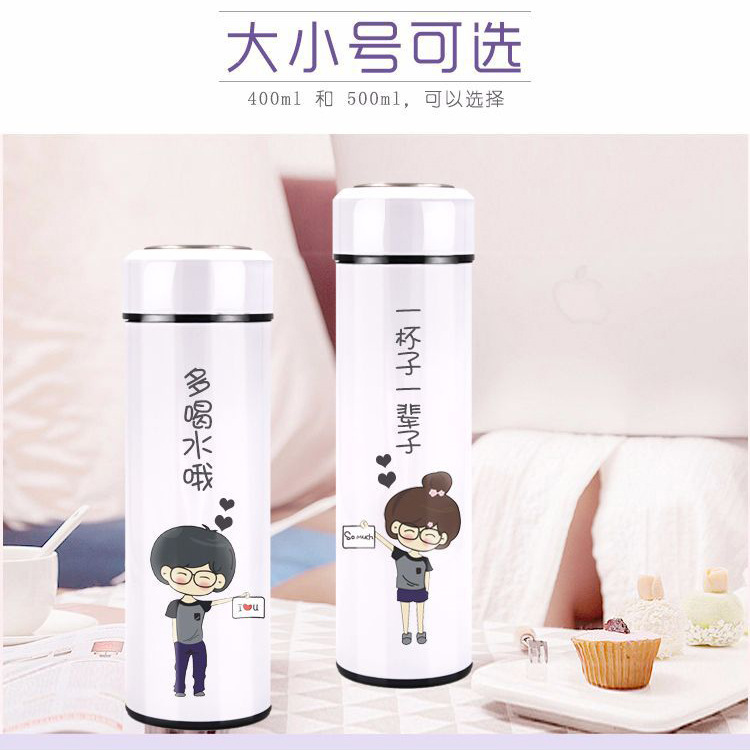 Hot Selling Thermal Transfer Flat Head Insulated Cup Blank Paintcoat Insulated Stainless Steel Bottle Sublimation Printed Photo|Sports Bottles| |  - title=