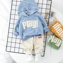 Jo & mi 2020 Детские хлопковые комплекты одежды детская рубашка