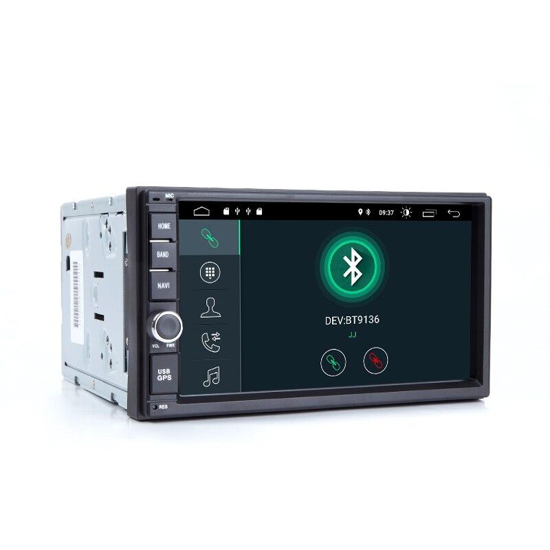 2 din Android 9,0 Автомобильный Универсальный мультимедиа для Nissan Note Qashqai Xtrail Juke Almera головное устройство стерео радио GPS навигация 2 Гб