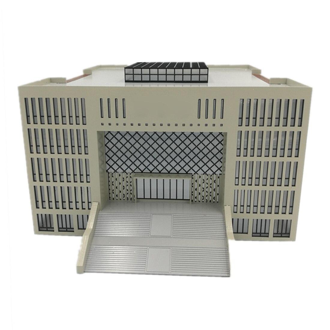 1/150 N масштаб DIY песочный стол декоративная архитектура здание Миниатюрная библиотека модель строительные наборы