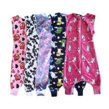 Baby Sleeping Bag Carriage Sack For Newborn Baby Animal Pattern Children Bed Play Split Leg Spring Autumn Sleepsacks Warm