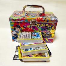 153cards/box GX TOMY Pokemon 6th generation Shining Cards Game Battle Cartes pokemon Trading Cards Game Children Pokemons go toy
