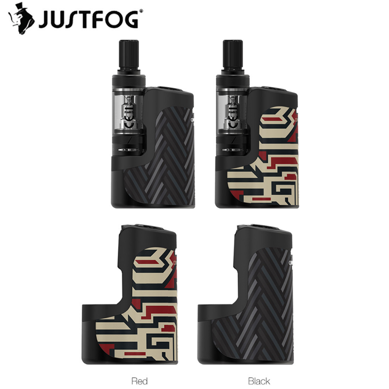 Original JUSTFOG Compact 16 Kit W/ 1400mAh Battery & 1.9ml Compact 16 Atomizer & 3-Level Voltage Ecig Vape Kit VS Q16 Pro/ Vinci
