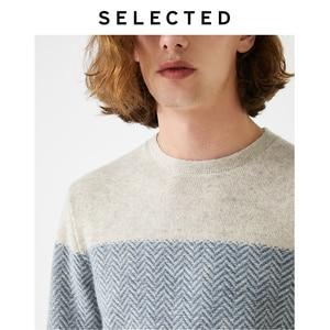 Image 5 - נבחר חדש גברים של צמר תפרים סוודרי החורף חדש עגול צוואר סוודר S