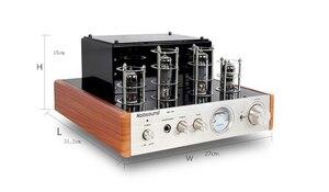 Image 4 - Nobsound MS 10D tubo amplificador de potência áudio 25 w * 2 amplificadores de vácuo suporte 110 v ou 220 v amplificador de alta fidelidade ms 10d